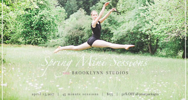 Spring MINI Sessions Event